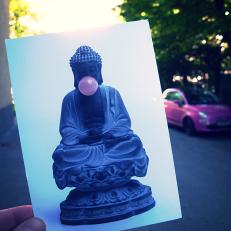 ... nach Graz. Postkarte von meinem Bruder.