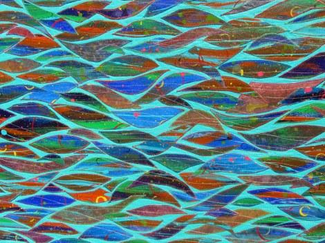Key West Ocean, detail 2, Susan Lenz